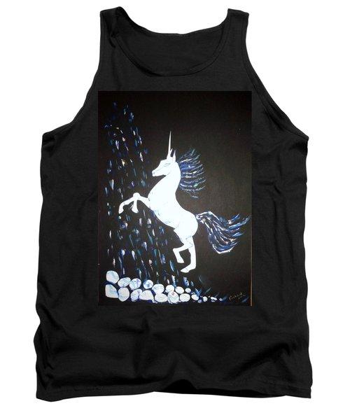 Unicorn Takes A Shower Tank Top