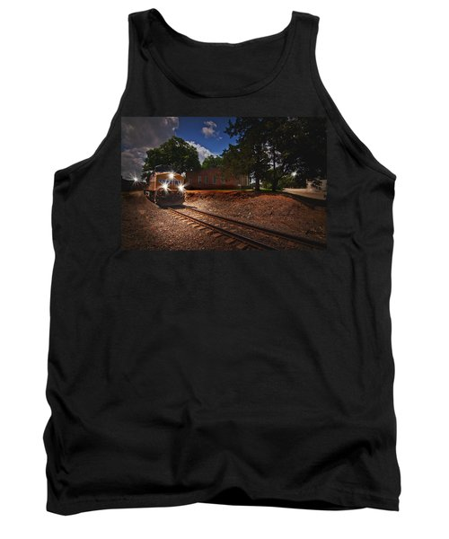Union Pacific 7917 Train Tank Top by Linda Unger