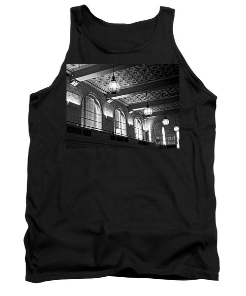 Union Station Balcony - New Haven Tank Top by James Aiken