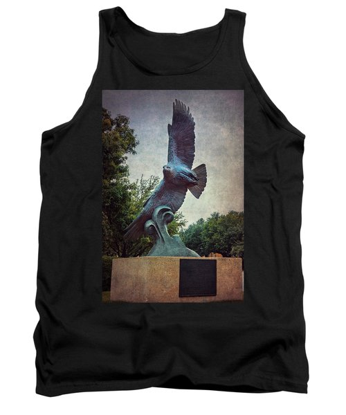 Tank Top featuring the photograph Unt Eagle In High Places by Joan Carroll