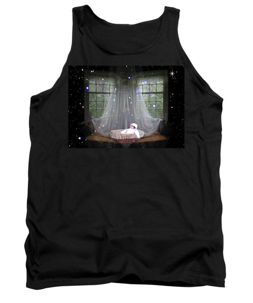 Unto Us A Child Is Born Tank Top by Paula Ayers