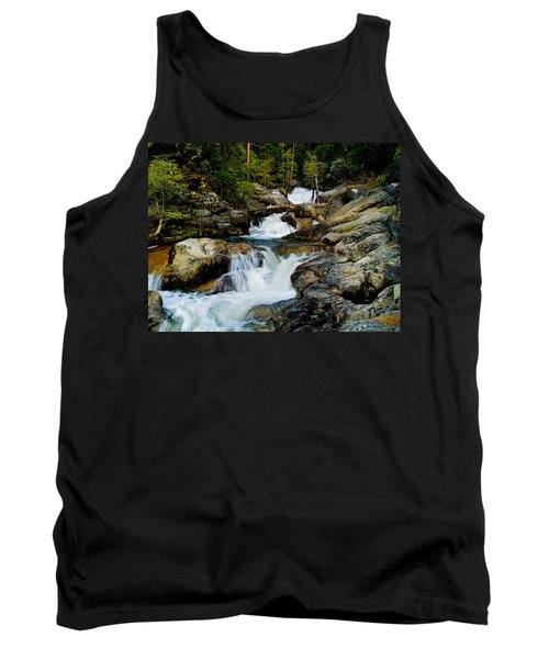 Up The Creek Tank Top by Bill Gallagher