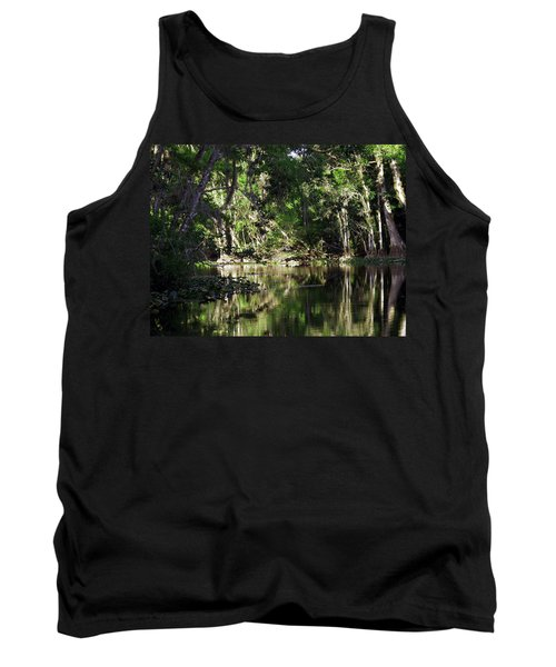 Up The Lazy River  Tank Top