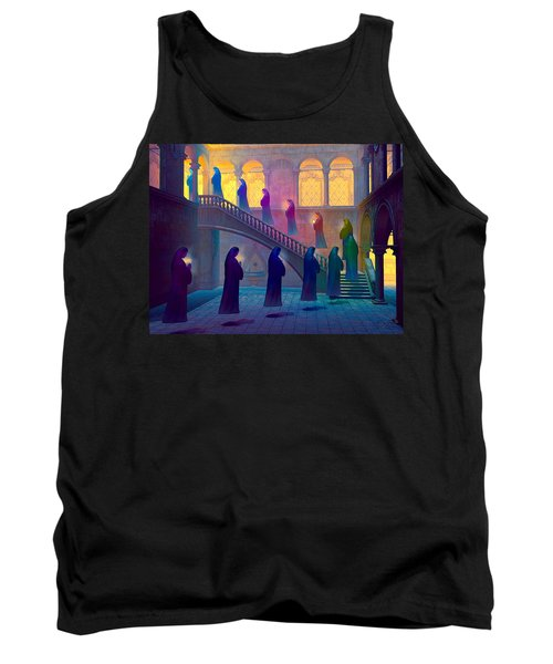 Tank Top featuring the painting Uplifting Prayer by Dave Luebbert