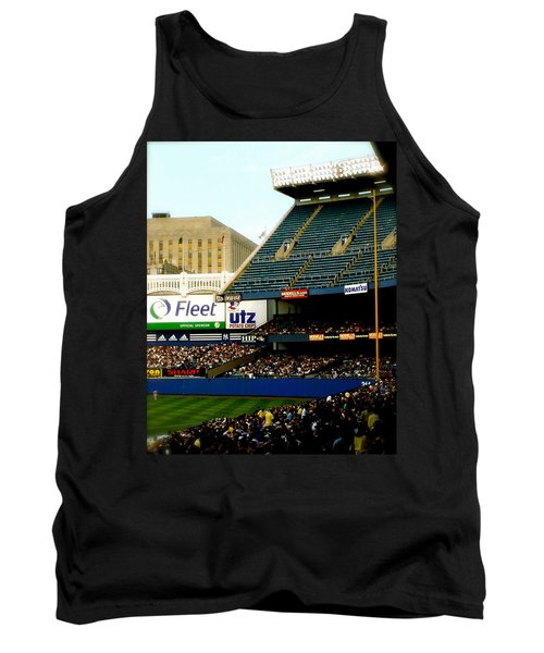 Tank Top featuring the pyrography Upper Deck  The Yankee Stadium by Iconic Images Art Gallery David Pucciarelli