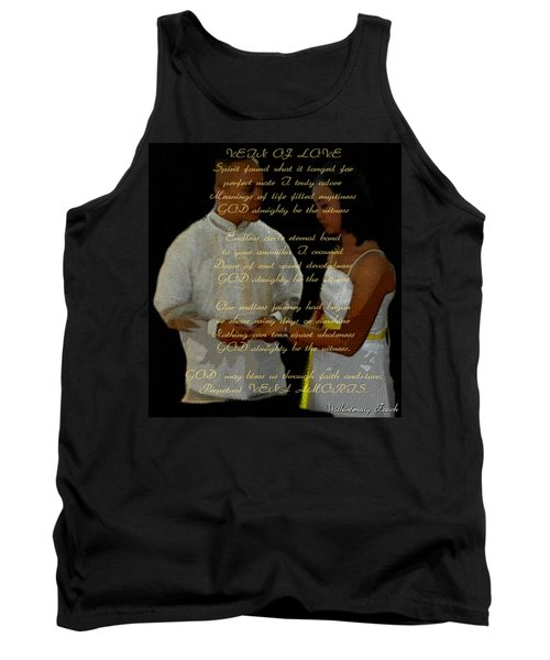 Vein Of Love Poem Tank Top