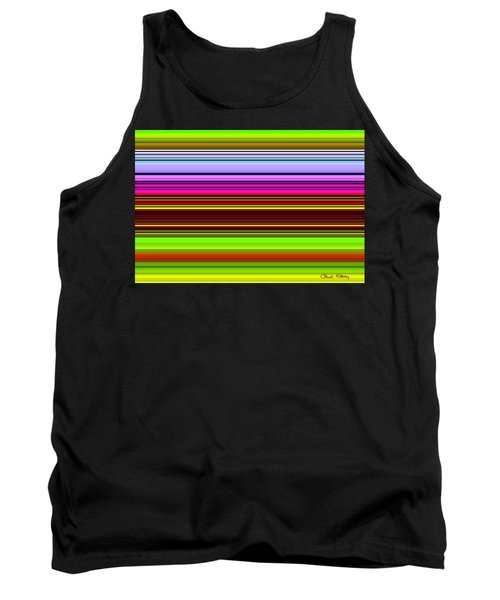 Venice Flower Abstract Tank Top
