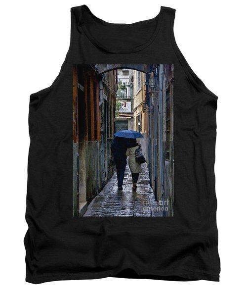 Venice In The Rain Tank Top