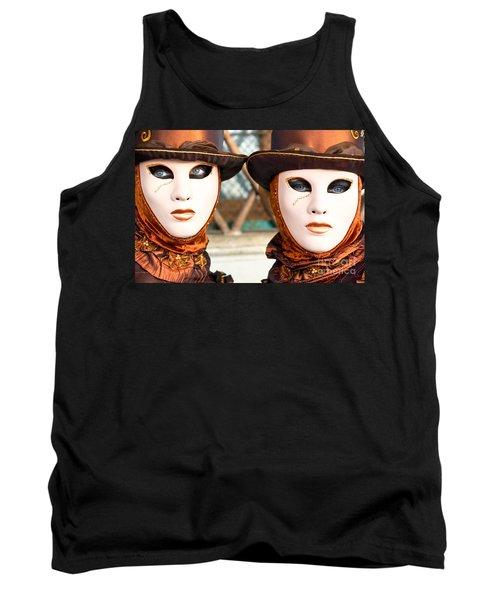 Venice Masks - Carnival. Tank Top
