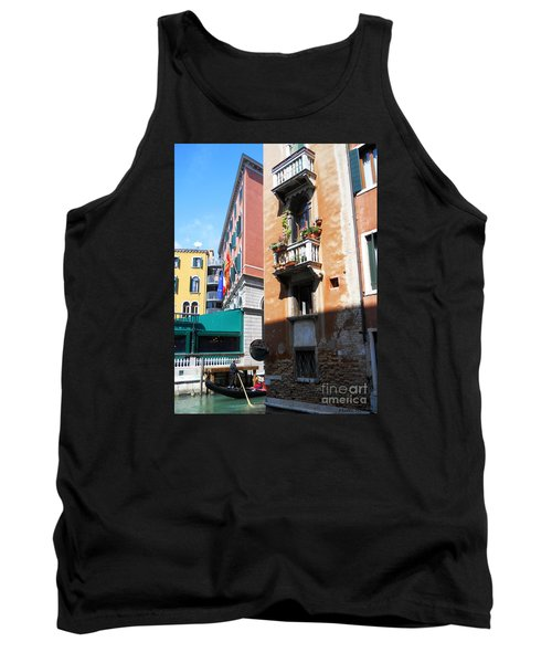 Venice Series 6 Tank Top by Ramona Matei