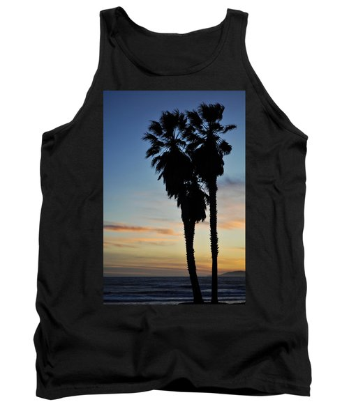 Ventura Palm Sunset Tank Top