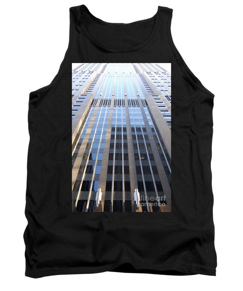 Vertical Chicago By Jammer Tank Top by First Star Art
