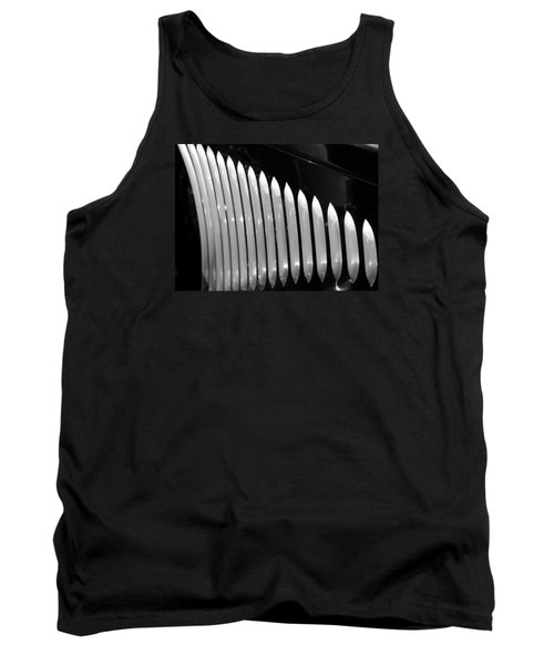 Tank Top featuring the photograph Vertical Vents by Rebecca Davis