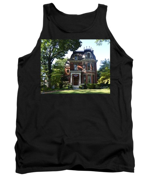 Victorian Beauty Tank Top by Luther Fine Art