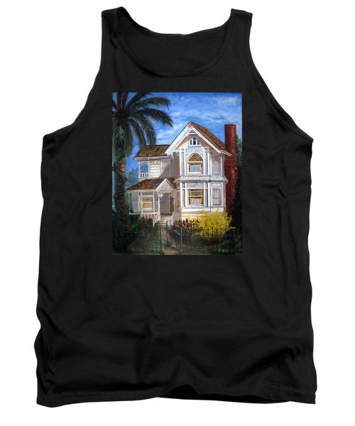 Victorian House Tank Top by LaVonne Hand