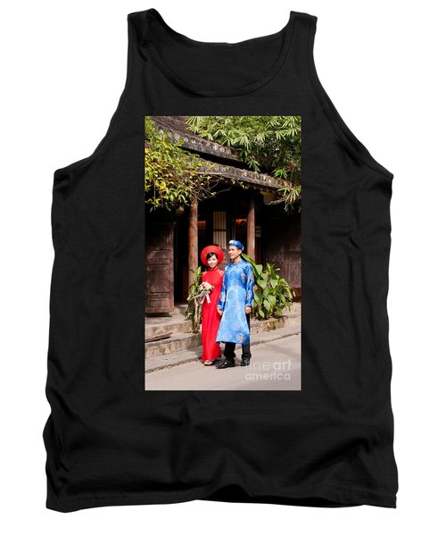Vietnamese Wedding Couple 01 Tank Top