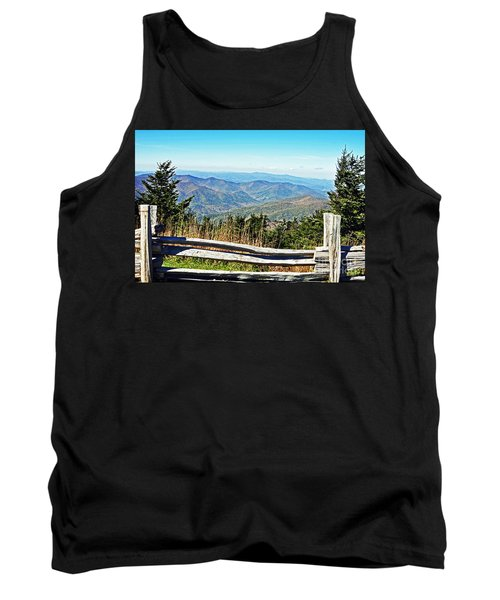 View From Mt. Mitchell Summit Tank Top