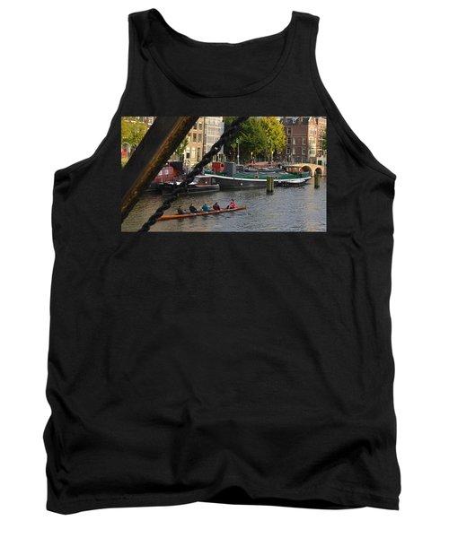 'skinny Bridge' Amsterdam Tank Top by Cheryl Miller