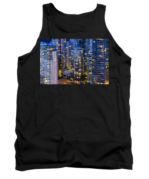 View Towards Coal Harbor Vancouver Mdxxvii  Tank Top