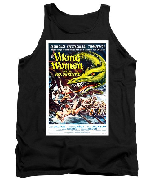 Viking Women And The Sea Serpent Poster Tank Top