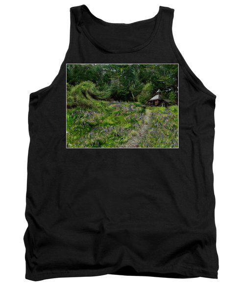 A Lupine Tale  Vincents View Tank Top