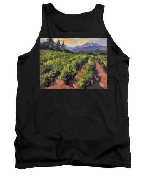 Vineyard At Dentelles Tank Top