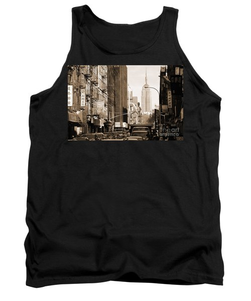 Vintage Chinatown And Empire State Tank Top
