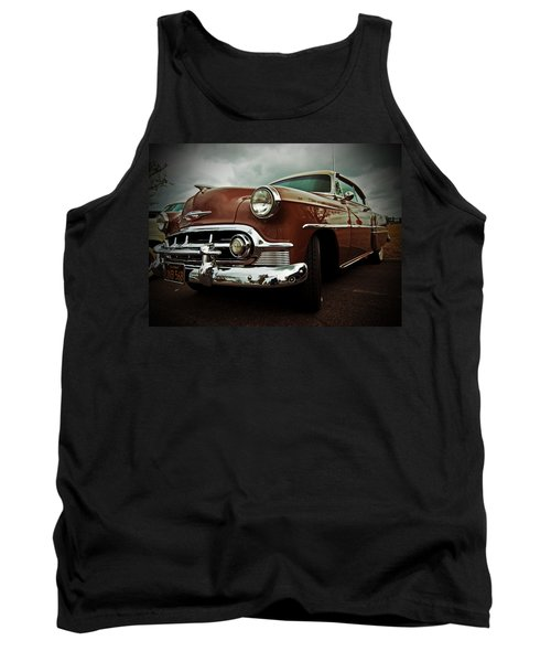 Tank Top featuring the photograph Vintage Chrysler by Gianfranco Weiss