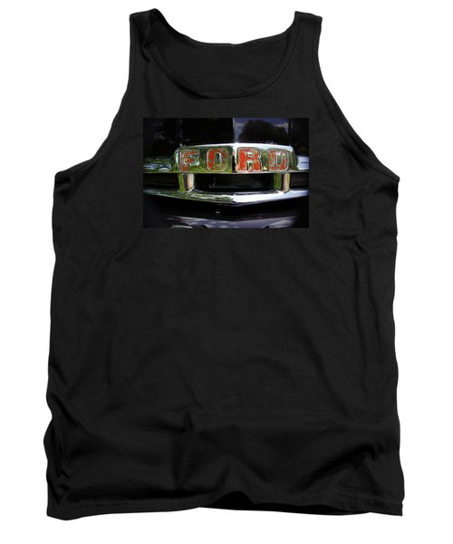 Vintage Ford Tank Top by Laurie Perry