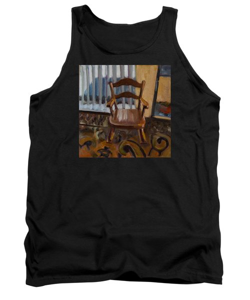 Tank Top featuring the painting Vintage Rocker by Pattie Wall
