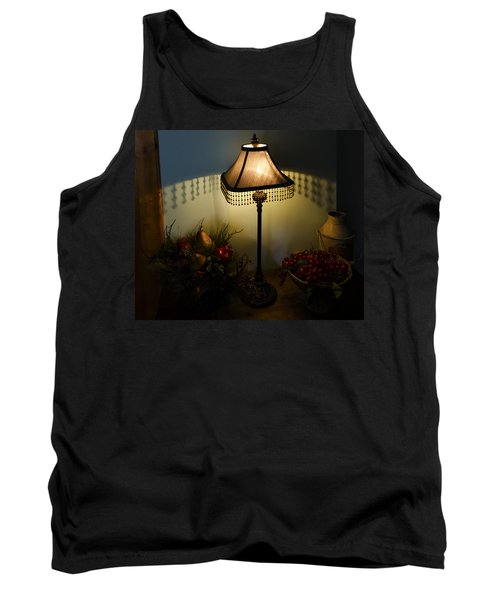 Vintage Still Life And Lamp Tank Top by Greg Reed