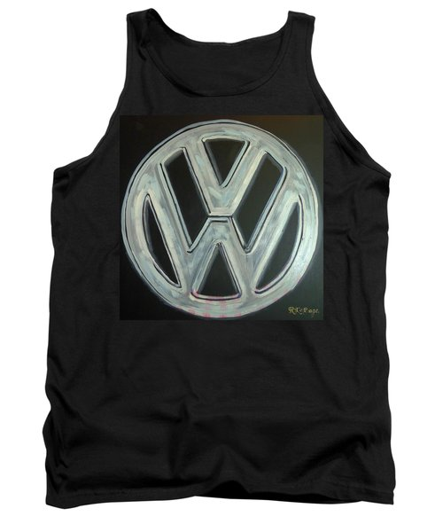 Vw Logo Chrome Tank Top