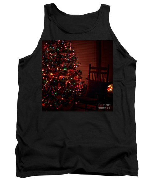 Waiting For Christmas - Square Tank Top