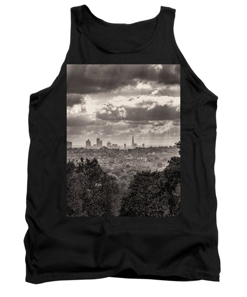 Walking The Sights Tank Top by Lenny Carter