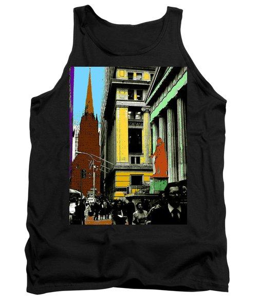 New York Pop Art 99 - Color Illustration Tank Top