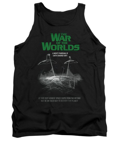 War Of The Worlds - Attack Poster Tank Top