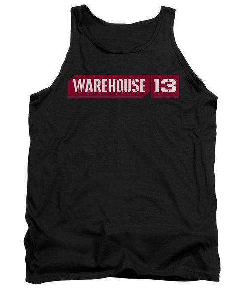 Warehouse 13 - Logo Tank Top