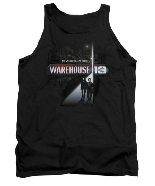 Warehouse 13 - The Unknown Tank Top