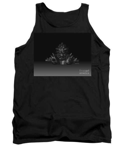 Tank Top featuring the sculpture Warlord by R Muirhead Art