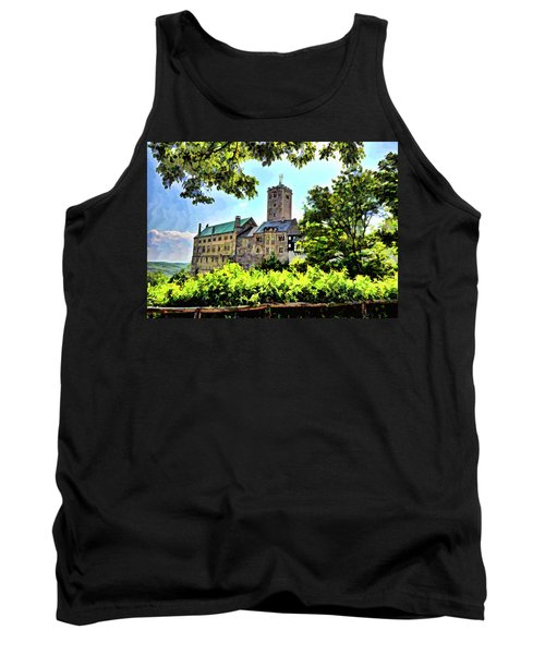 Tank Top featuring the photograph Wartburg Castle - Eisenach Germany - 1 by Mark Madere