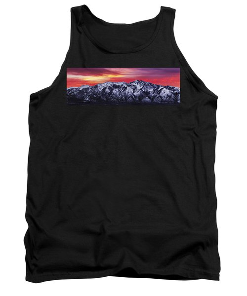 Wasatch Sunrise 3x1 Tank Top by Chad Dutson