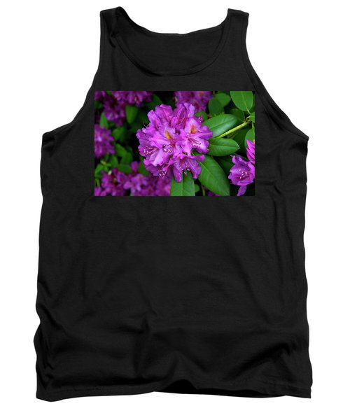 Washington Coastal Rhododendron Tank Top