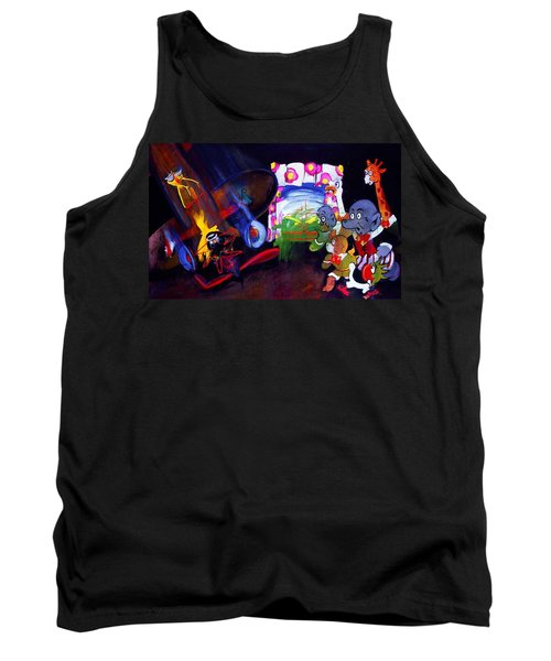 Tank Top featuring the painting Watch With Mother by Charles Stuart