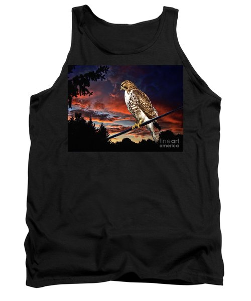 Watching The Sun Set Tank Top