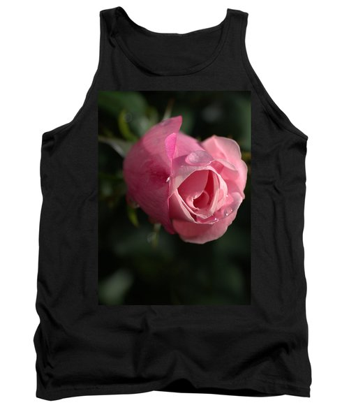 Water And Rose Tank Top