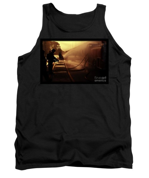 Water Blanket Tank Top
