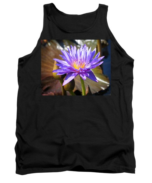 Tank Top featuring the photograph Water Flower 1004d by Marty Koch