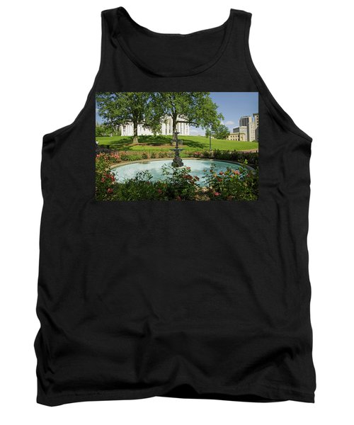Water Fountain And Virginia State Tank Top