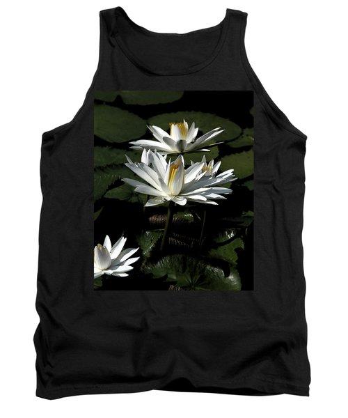 Tank Top featuring the photograph Water Lilies by John Freidenberg