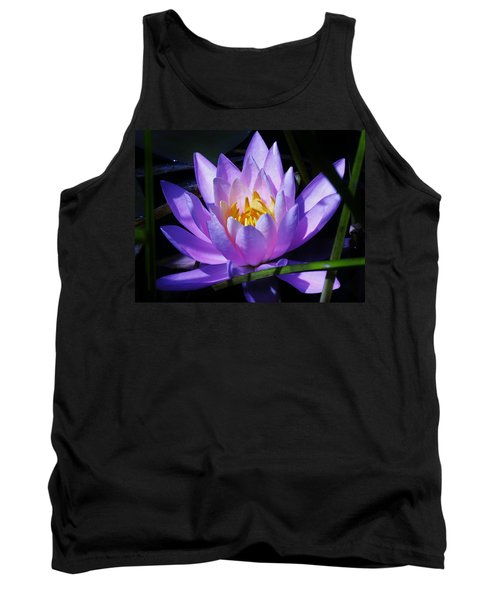 Water Lily Blues Tank Top